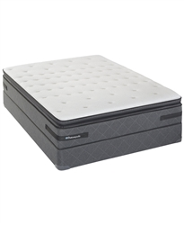 Sealy Posturepedic Plush Pillowtop Queen Split Mattress Set