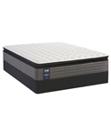 Sealy Posturepedic Lawson LTD II 13.5 inch Cushion Firm Pillow Top Full Mattress Set
