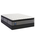 Sealy Posturepedic Shore Drive LTD II 14 inch Cushion Firm Pillow Top Queen Mattress Set