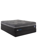 Sealy Silver Chill 14 inch Hybrid Firm Queen Mattress Set