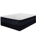 Stearns & Foster Estate Hurston 14.5 inch Luxury Plush Euro Pillow Top Mattress Set - Twin XL
