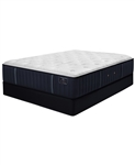 Stearns & Foster EH 14 inch Luxury Cushion Firm Mattress Set - Queen