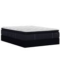 Stearns & Foster ER 14.5 inch Luxury Plush Mattress Set - Queen