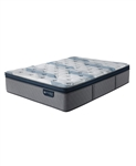 Serta iComfort by Blue Fusion 300 14 inch Hybrid Plush Euro Pillow Top Mattress - Queen