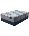 Serta iComfort by Blue Fusion 100 12 inch Hybrid Firm Mattress Set - California King
