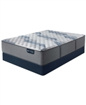 Serta iComfort by Blue Fusion 500 14 inch Hybrid Extra Firm Mattress Set - California King