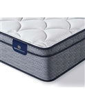 Serta Perfect Sleeper Elkins II 11 inch Plush Euro Pillow Top Mattress - Queen