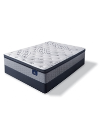 Serta Perfect Sleeper Kleinmon II 13.75 inch Plush Pillow Top Mattress Set - Queen