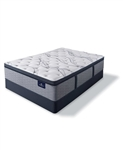 Serta Perfect Sleeper Trelleburg II 14.75 inch Firm Pillow Top Mattress Set - Queen