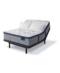 Serta Perfect Sleeper Trelleburg II 14.75 inch Plush Pillow Top Mattress - California King