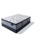 Serta Perfect Sleeper Trelleburg II 14.75 inch Plush Pillow Top Mattress Set - Queen