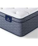 Serta Sleeptrue Alverson II 13 inch Firm Euro Top Mattress - California King