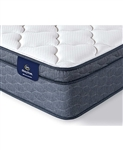 Serta Sleeptrue Malloy 12.5 inch Plush Euro Top Mattress - California King