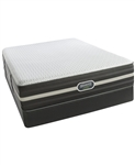 Simmons Beautyrest Hybrid World Class 5.0 Firm Tight Top Twin Mattress Set