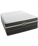 Simmons Beautyrest Hybrid World Class7.0 Luxury Plush Tight Top Twin Mattress Set