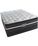 Simmons Beautyrest Recharge World Class Luxury Plush Pillowtop Twin Mattress Set