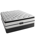 Simmons Beautyrest Recharge Plus Plush Pillowtop Twin Mattress Set
