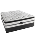 Simmons Beautyrest Recharge Plush Pillowtop Twin Mattress Set