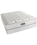 Simmons Beautyrest Classic Plush Twin Mattress Set