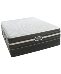 Simmons Beautyrest Hybrid World Class 3.0 Plush Tight Top Twin Mattress Set