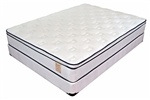 Twin Set Variety Bedding Euro Classic Comfort II Pillow Top at Mattress Liquidation